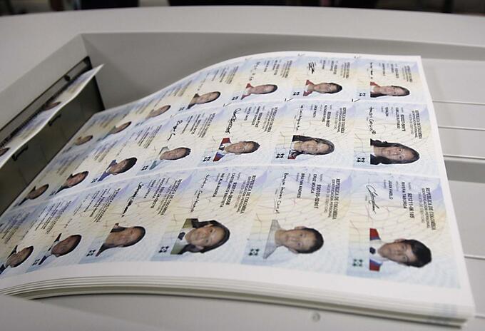 Tarjeta de identidad en Colombia