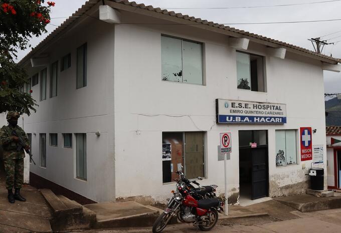 Misión médica estuvo en riesgo en Hacarí Norte de Santander