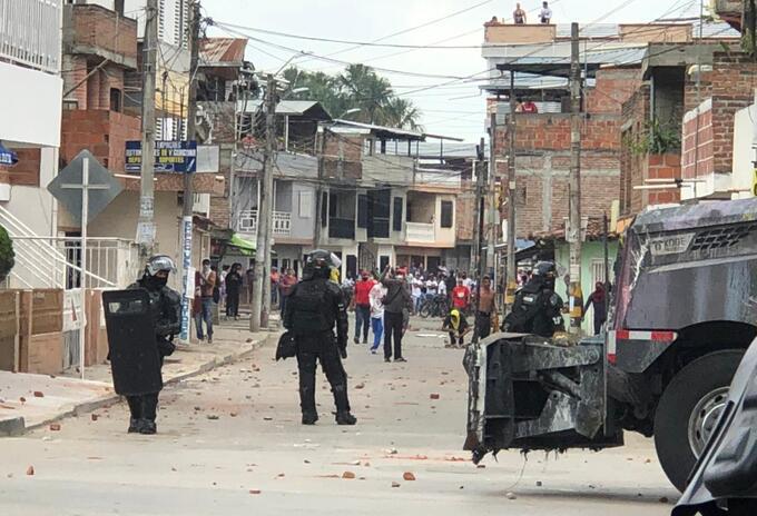 Enfrentamientos Candelaria, Valle