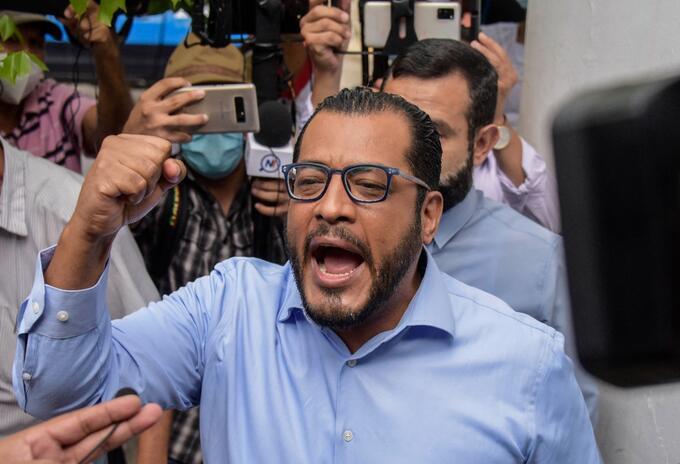 Félix Maradiaga, aspirante opositor a la Presidencia de Nicaragua