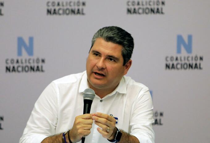 Juan Sebastián Chamorro García, precandidato opositor a la Presidencia de Nicaragua