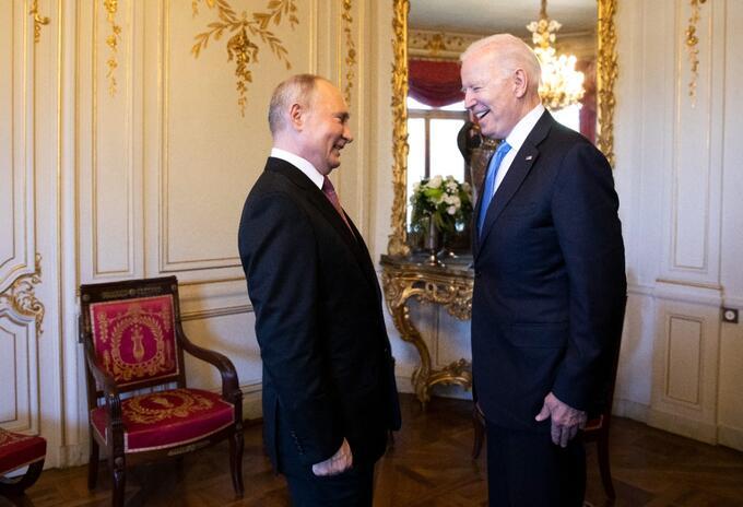 Cumbre Joe Biden y Vladimir Putin