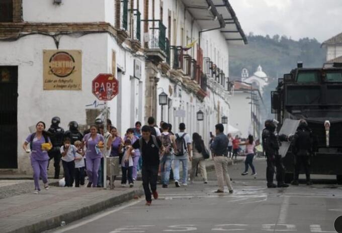 Protestas Poayán