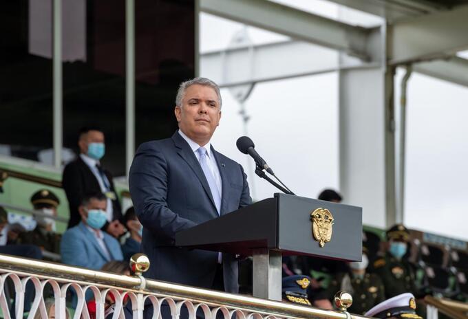 Presidente Iván Duque