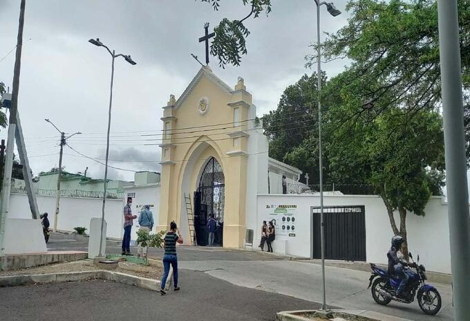 Cementerio público ya copo su capacidad