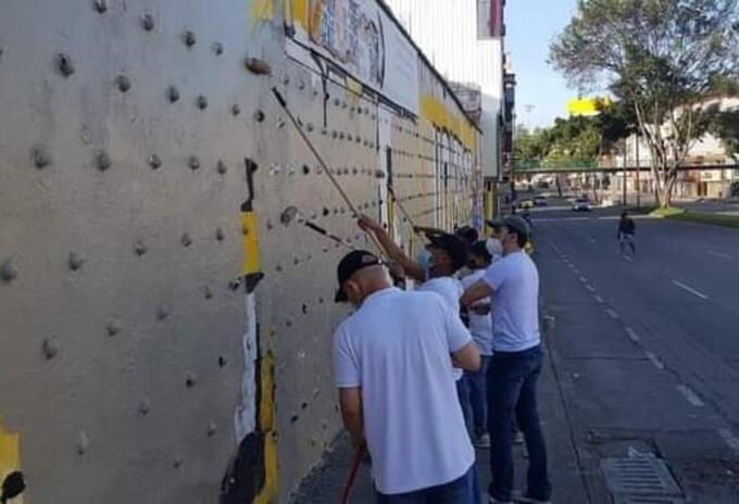 Paro Nacional: Borraron murales hechos por manifestantes en Cali | RCN Radio