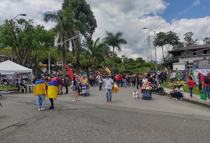 Protestas 20 de julio en Pereira