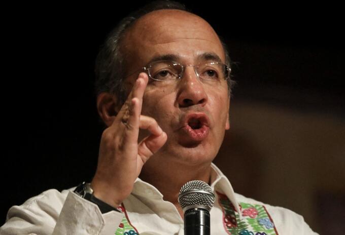 Felipe Calderon, expresidente de México