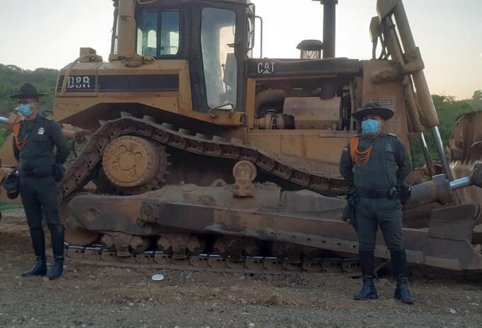 Minería ilegal.
