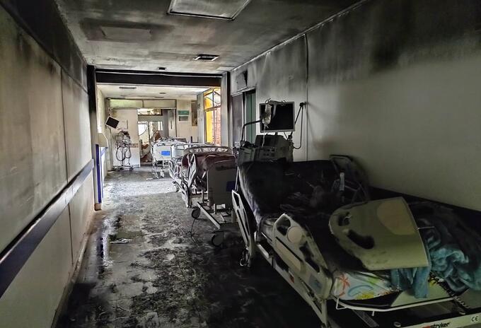 Incendio en Hospital de Villavicencio se habría producido por un corto |  RCN Radio
