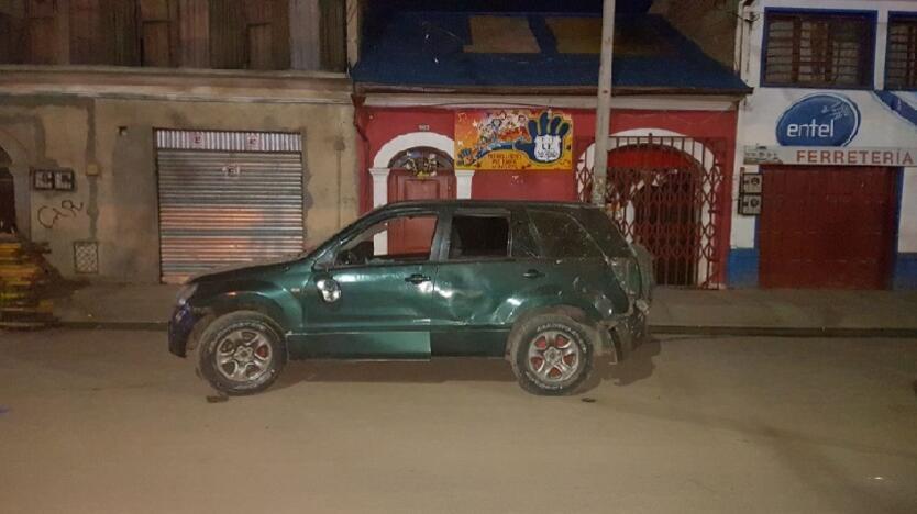 Explosión en Bolivia