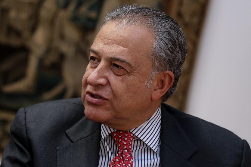 Vicepresidente de la República, general (r) Óscar Naranjo