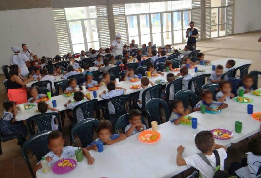 Medio millón de niños en Colombia sin alimentación escolar