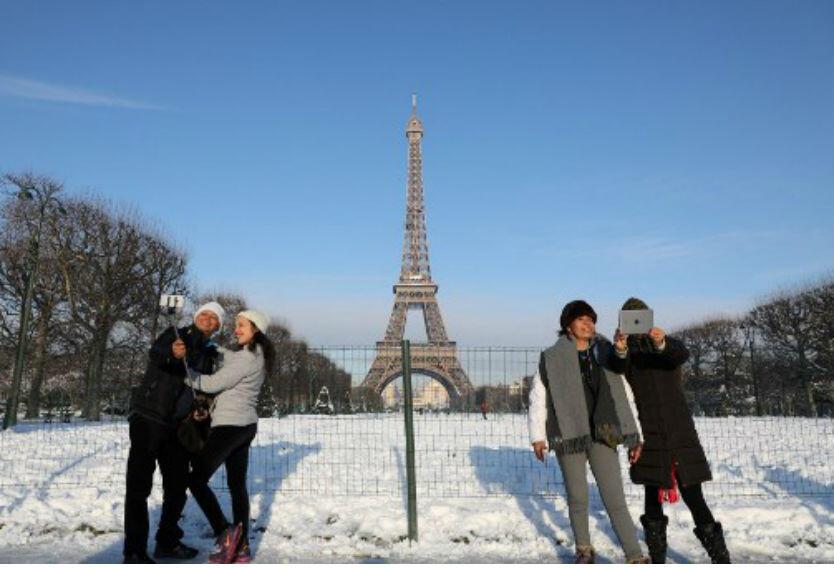 París turistas