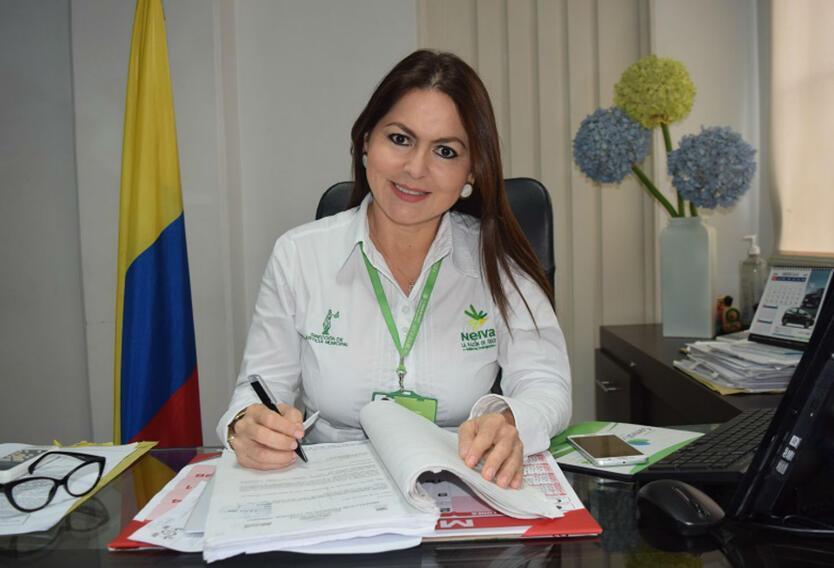 Directora de Justicia de Neiva, María Vidal Aparicio