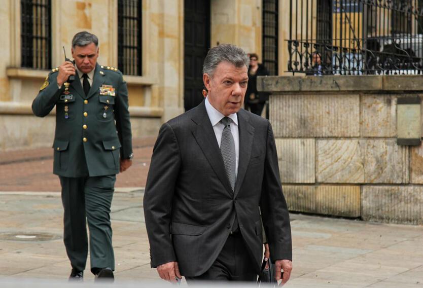 Juan Manuel Santos, presidente de la República