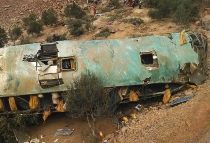 Accidente bus Perú
