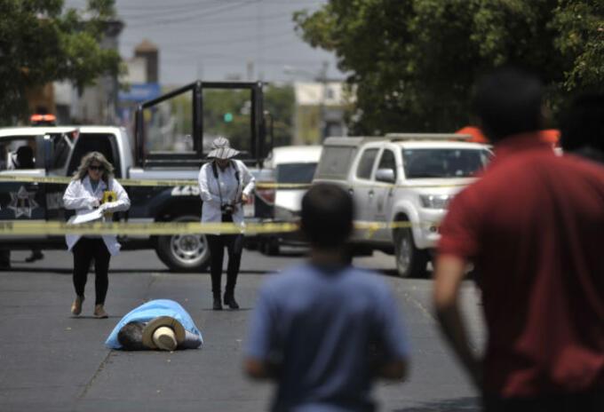 México Violencia.