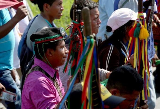 Indígenas colombianos