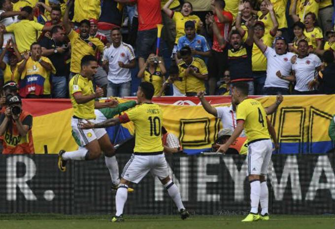 Selección Colombia en escalafón FIFA