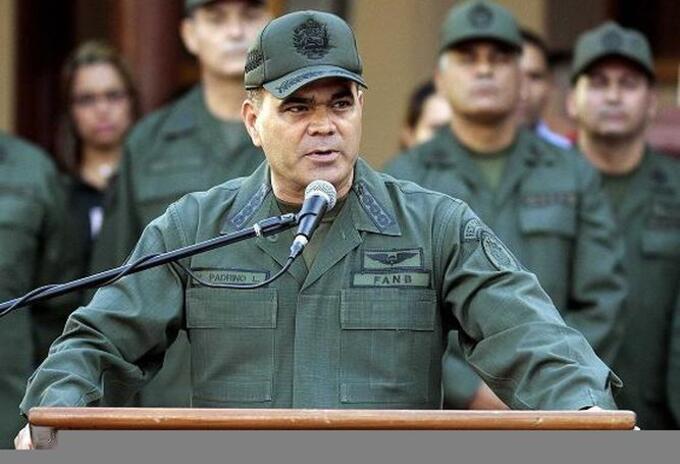 El ministro de Defensa de Venezuela, Vladimir Padrino López.