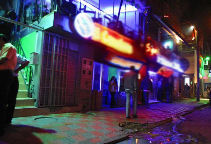 Riña en discoteca en Juanchito