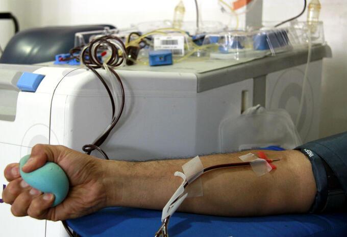 Donantes de sangre