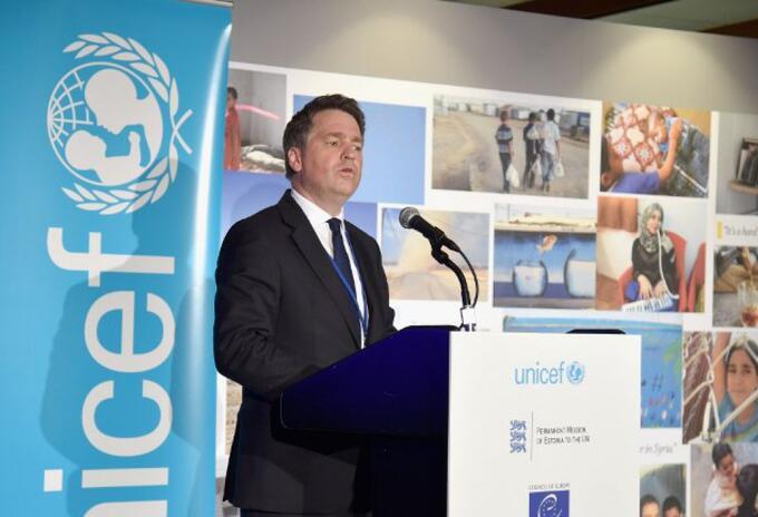 Justin Forsyth Unicef