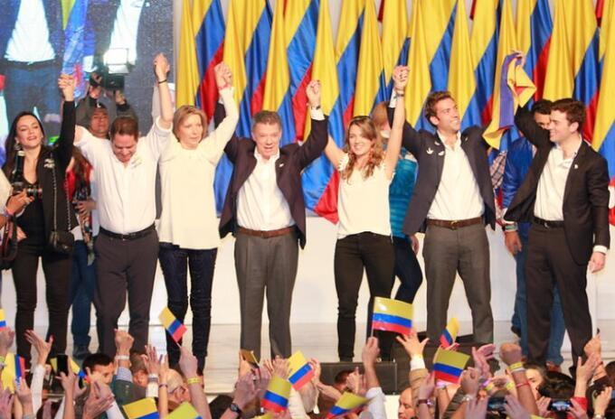 Reelección de Juan Manuel Santos