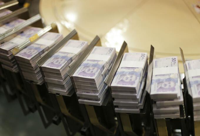 Nuevos billetes de $50.000