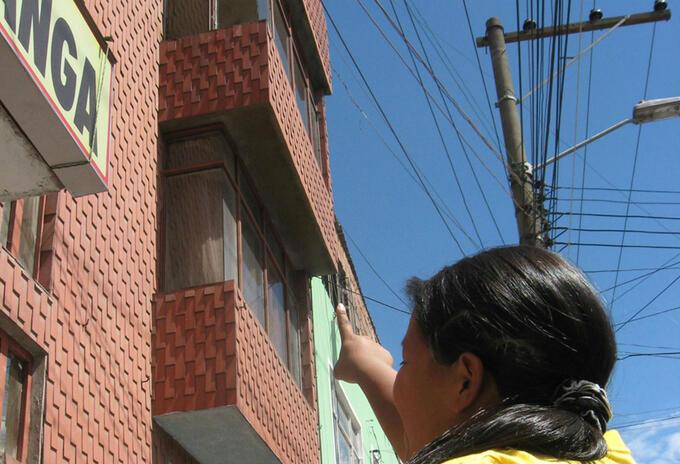 Cables de alta tensión generan riesgo humano en Bogotá