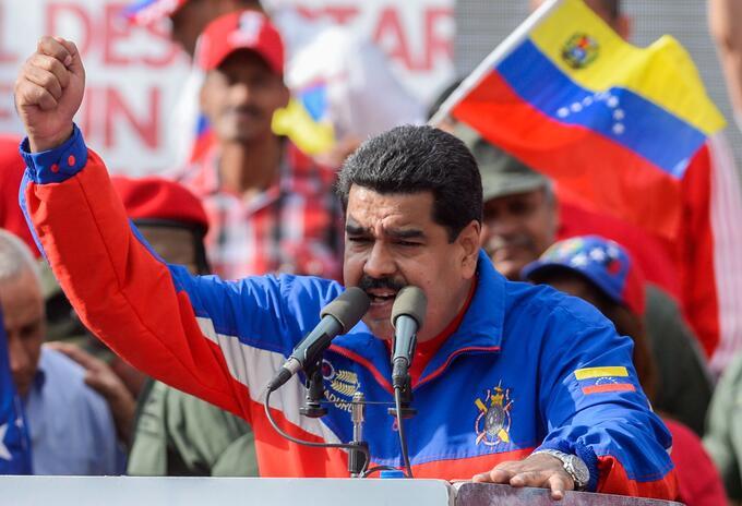 Presidente de Venezuela Nicolás Maduro.