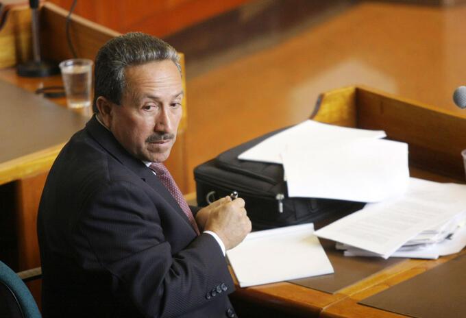 Ex gobernador de Santander, Hugo Aguilar