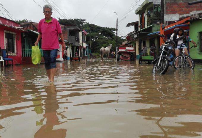 Inundaciones en Pereira