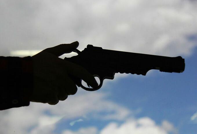 Arma de fuego. Imagen de ilustración