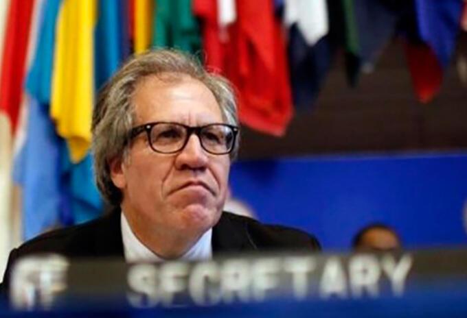 Secretario General de la OEA Luis Almagro.