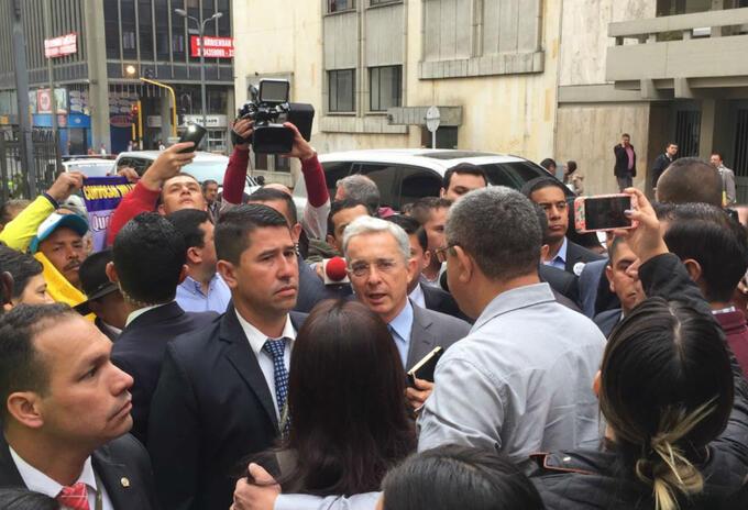 Álvaro Uribe Vélez en la Corte Suprema